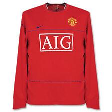 Nike Manchester United Football club AIG largo manga entrenamiento sudadera rojo