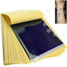 New 50 x Tattoo Thermal Carbon Stencil Transfer Paper Tracing Kit Art Supply