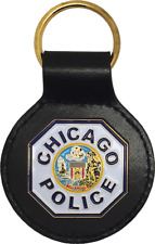 CHICAGO POLICE SHOULDER PATCH KEY FOB