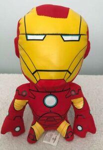 Marvel Avengers Iron Man Talking Plush Toy Eyes Light Up Sounds