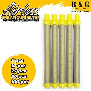 Titan/Wagner/Spraytech Spray Gun Filter Replacement - Unthreaded Fine 100 mesh