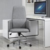 Ergonomic Design Home Business Lounger with Swivel Wheels, Comfort Backrest