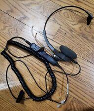 Voice Tube Headset for Polycom Avaya Nortel Toshiba NEC Aspire Hybrex Ascom