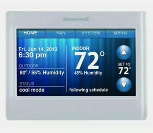 Honeywell TH9320WF5003Wi-Fi 9000 Color Touch Screen 7Day Programmable Thermostat