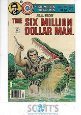 The Six Million Dollar Man  #4   VF+   (Charlton Comics)