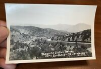 """Vintage """"Taken at Indian Divide 12 mi. Southeast of Carrizozo New Mexico"""" RPPC"""