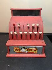 Vintage Tom Thumb Cash Register/Children's Toy From The 1950S