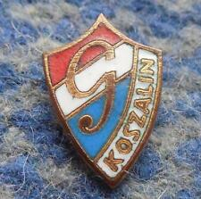 GWARDIA KOSZALIN POLAND FOOTBALL SOCCER 1980's SMALL ENAMEL PIN BADGE