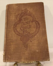 Antique Book The Dumb Child And Other Tales By Canon Schmid
