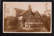 Formby - Grange Cottage - real photographic postcard