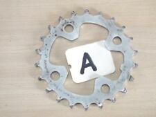 SHIMANO 22T IG / HG N-22 8 - 9 SPEED SILVER STEEL 64BCD INNER CHAINRING - ITEM A