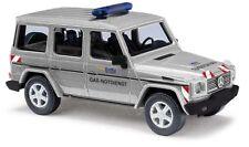 Busch 51414, Mercedes-Benz G-Klasse 90, Gas-Notdienst, H0 Modell 1:87
