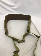 EAGLE INDUSTRIES Padded Military Belt XL Khaki SFLCS MLCS WAR BELT