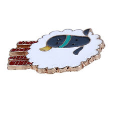 Jewelry Clothing Accessories Gifts L Funny Enamel Sheep Cartoon Animal Brooch