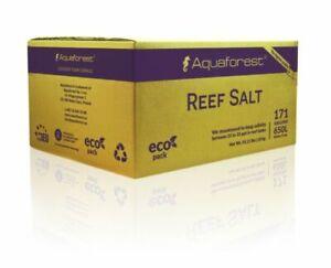 Aquaforest Reef Salt 25kg & 50kg Refill Marine Fish Tank Coral Reef Aquarium UK