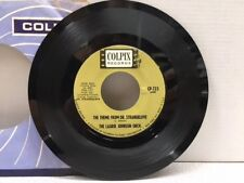 The Laurie Johnson Orch. Radio Promo 45 RPM Dr. StrangeLove / Love That Bomb