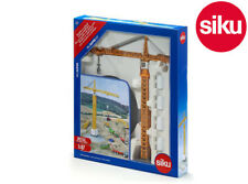 Siku 1899 Liebherr Tower Crane Site Construction Working Cable winch 1:87 Scale