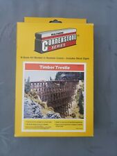 Walthers Cornerstone 933-3217 Timber Trestle Kit N-Scale NOS