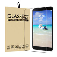 "For Alcatel 3T 8""/A30 8.0"" Tablet Tempered Glass Screen Protector,Scratch Resist"
