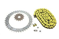 Yamaha Warrior 350, 1989-2004, More Speed Yellow O-Ring Chain and Sprocket Set