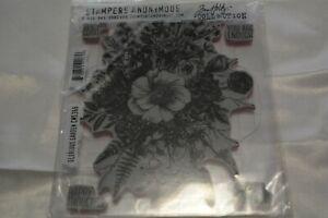 Tim Holtz Glorious Garden Stamp Set
