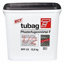 Tubag Pflasterfugenmörtel PFF 12,5 KG wasserdurchlässig FIX UND FERTIG Basalt