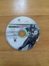 Madden NFL 07 para Xbox 360 * * disco solamente
