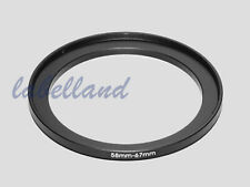58mm-67mm Filter Adaptor Ring Converts 58mm lens thread to 67mm 58-67 Step-Up UK