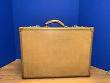 VINTAGE HARTMANN LUGGAGE BROWN LEATHER ATTACHÉ BRIEFCASE