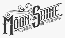 high detail airbrush stencil moonshine logo FREE POSTAGE