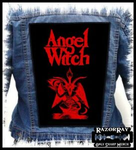 ANGEL WITCH - Sweet Danger --- Huge Jacket Back Patch Backpatch