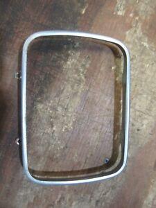 1986-1989 Dodge truck headlight bulb retainer trim molding ring square