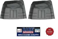 LH & RH REAR FLOOR PAN (2) SUIT HOLDEN HQ HJ HX HZ WB UTE 1 TON & VAN SANDMAN