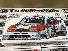 Tamiya 24176 1/24 Model Car Kit Martini Alfa Romeo 155 V6 Ti '96 Larini/Nannini