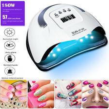Professional Led Uv Nail Dryer Gel Polish Lamp Salon Manicure Max 180W Sun X7 Us