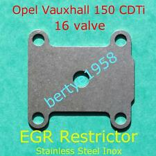 EGR valve Restrictor plate Saab 1.9 Tid 16 Valve 150HP blanking Lancia Stainless