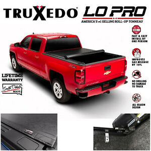 Truxedo Lo Pro QT Inside Rail Tonneau Cover For 07-13 Silverado 1500 5.8' Bed