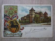 CPA CHROMO Postkarte Deutschland STUTTGART Das Alte Schloss Date 1902 Wendisch
