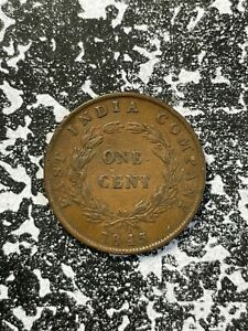 1845 Straits Settlements 1 Cent Lot#X3399