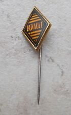RENAULT Car France french Hat Pin Lapel Pin Tie Tac Hatpin Pins 1960 brown #17