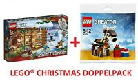 LEGO® 60235 CITY Adventskalender + 40434 CREATOR Rentier Polybag NEU/OVP