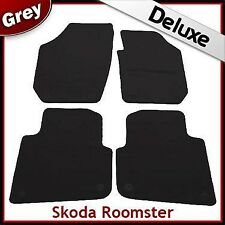 Skoda Roomster 2008 2009 2010 2011 Tailored LUXURY 1300g Car Mats GREY