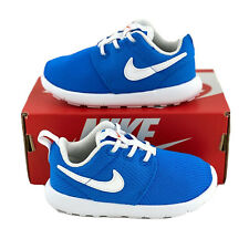Nike Roshe One Blue White Toddler Shoes Sizes 2C-10C Kids Sneakers 749430 422