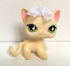 Lps Littlest Pet Shop Yellow Short Hair Cat #733 SUPER RARE 100% AUTHENTIC