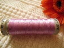 bobine FIL à broder Gutermann 200 m parme lumineux violet col 5827 couture