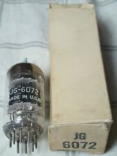 6072 GE GENERAL ELECTRIC 12AY7 BLACK PLATE 3 MICA NOS NIB VACUUM TUBE TOP TIER!