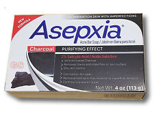 ASEPXIA CHARCOAL Deep Cleansing Bar Soap Acne Treatment With Salicylic Acid 4oz