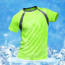Men's T-Shirts Tops Sports Quick Dry Shirt Athletic Running Casual Tee Blouse