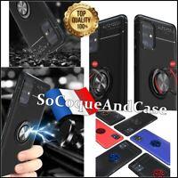 Coque housse magnétique Ring Kickstand Case Cover Samsung Galaxy A31 A41 A51 A71