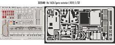 Eduard 1/32 Heinkel He 162A Salamander exterior grabado para Revell kit # 32540